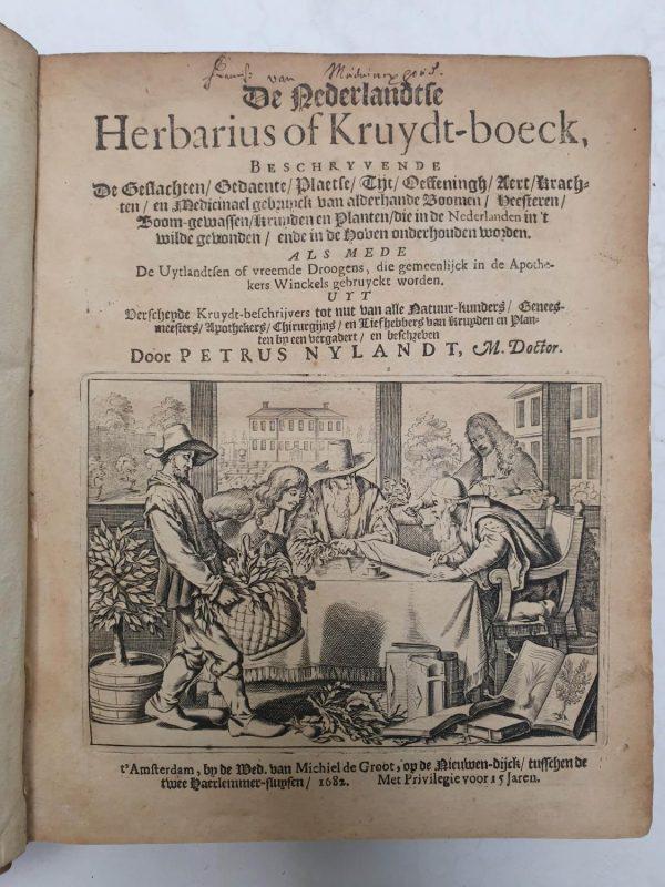 De Nederlandtse Herbarius of Kruydt-boeck