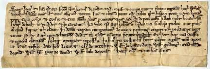 Quitclaim: attractive document of nine lines in a bold hand