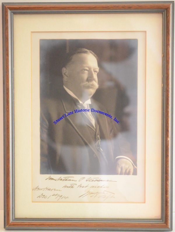 A William Taft Signed Photograph