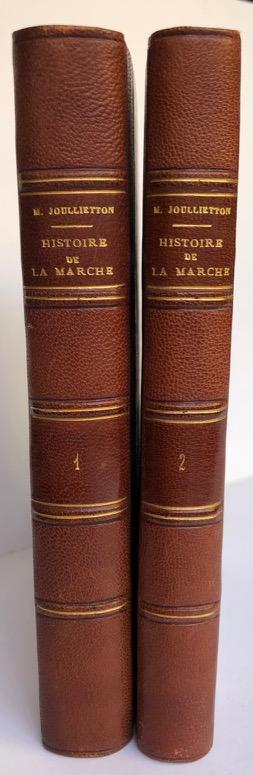 Histoire de la Marche et du pays de Combraille