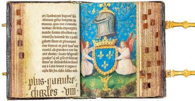 """The """" Petites Heures """" of Charles VIII of France"""