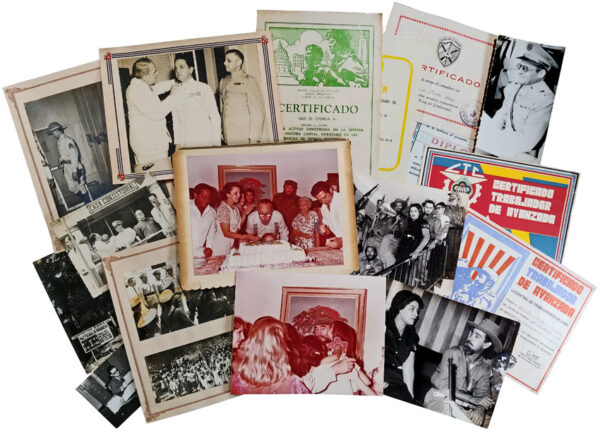 A Collection of Photographs and Ephemera from the Life and Political Rule of Fidel Castro